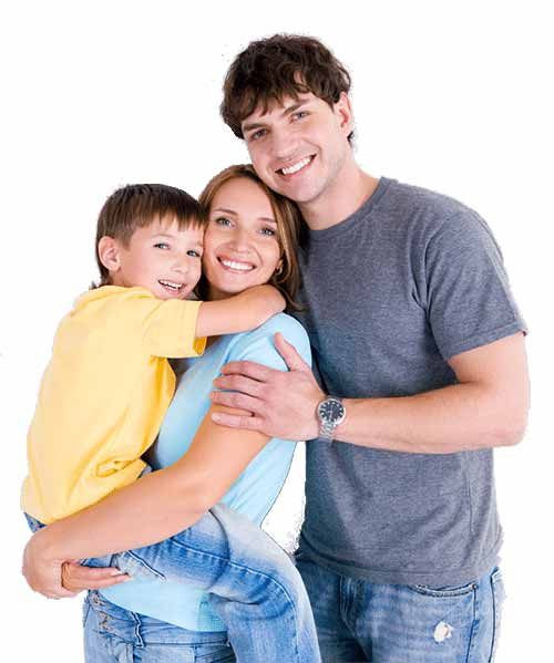 Chiropractic Care . Health And Wellness . Lifestyle Education - Happy Family